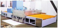 Lavatrice ed essiccamento di vetro orizzontali/verticali