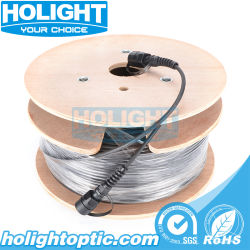 옥외 응용을%s LC 광학 섬유 케이블에 IP67 Odva 방수 LC