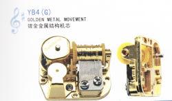 Movimento Musical de metal dourado (YB4G)