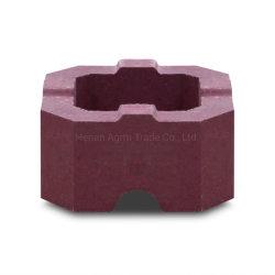 Gesinterde Magnesium Brick Refractory Material Series voor Glass Furnace