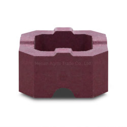 유로(Glass Furnace)용 소결 마그네슘 불응성 벽돌 시리즈