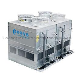 De zij Condensator van het Water van de Stroom Natuurlijke Koele Verdampings voor R717 in ZuivelIndustrie