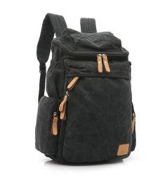 Tela Retro caminhadas viajando mochila adolescentes escolares mochila para Computador Portátil