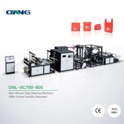 Allwell Onl-Xc700 pp. automatische nichtgewebte Gewebe-T-Shirt Bagmaking Maschine