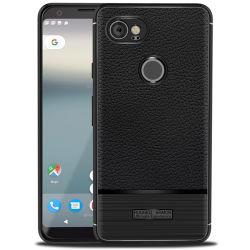 Nuovo design custodia TPU pelle litchi Stria modello cellulare Copertina per Google Pixel2/Google Pixel2 XL