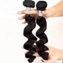 Het Maleise Beste Maagdelijke Haar van de Rang van het Menselijke Haar Wevende 10A