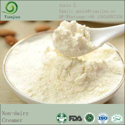 Polvere piena della crema del latte con non la scrematrice della latteria preferibilmente