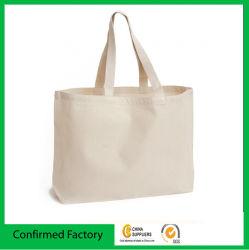 方法は昇進のためのカラーハンドルの綿のキャンバス袋を個人化した