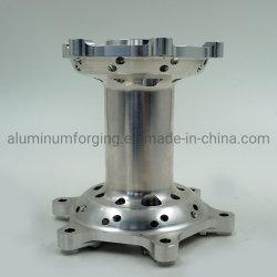Mozzo di alluminio 6082t6/6061t6/7075t6 del motociclo di pezzo fucinato
