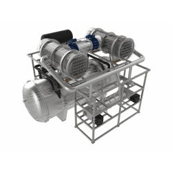 25m2 진공 냉동 드라이어 소식품 가공 산업용 동결건조기