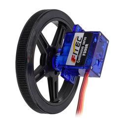 Micro di Fs90r 9g 360 gradi di servo continuo di rotazione per il robot di formazione del gambo di DIY