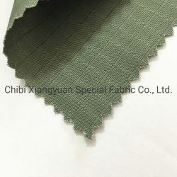 Resistência ao fogo Sateen 100% algodão tecido função retardador de chama Fabric