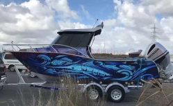 Allheart Professional 6,5 milhões/21FT Cuddy barco de alumínio de cabina para venda