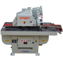 Mj153 máquina de carpintería único blade Rip de pandillas de la máquina de sierra sierra longitudinal para muebles