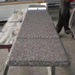 G664/poli naturel de granit rose pour les carreaux de plancher et un comptoir