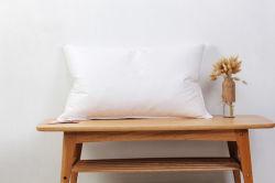 L'Oie blanche lit de plumes d'oreillers oreillers blanc
