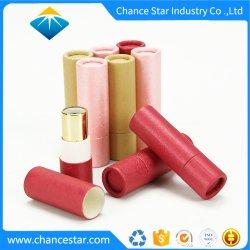 Ronda personalizada do tubo de Batom caso de Papel para Embalagem