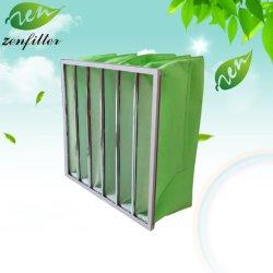 Filtre à air du collecteur de poussière de l'industrie Nov-Woven sac de tissu de filtre à air pour système de CVC