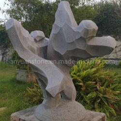 Современных гранитных абстрактные стороны резного искусства скульптура