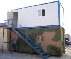 La Chine Fabricant 2-de-chaussée 20 pieds préfabriqués pour la vie de la chambre de motel de conteneur
