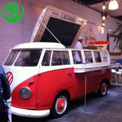 Automobile mobile Volkswagen dell'alimento di VW del carrello dell'alimento dell'alimento della via mobile del camion