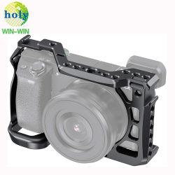 Qualitäts-Präzisions-kundenspezifische Zoll CNC-Maschinerie Aluminium-Teil-Anlage-videounterstützungsBaseblate Rahmen der CCTV-Kamera-A6600