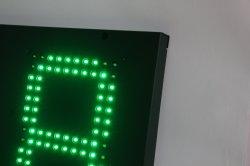 도매 실외 가스 가격 스테이션 패널 맞춤형 7 세그먼트 LED 이동식 긴급 도로측 가격 태그를 표시합니다