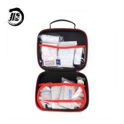 Bolsa rígida de viagem Mini PU EVA de poupança de saúde personalizada Caixa de armazenamento de dispositivos médicos do Kit de primeiros socorros