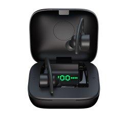 최고 판매인 마이크 헤드폰을%s 무선 이어폰 Bluetooth 5.0 Tws Earbuds 발광 다이오드 표시 힘 은행 헤드폰