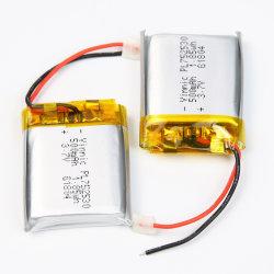 منتجات الجمال الذكية أو المعدات الطبية أو المنتجات الإلكترونية المحمولة مع بطارية ليثيوم أيون بوليمر Pl752530 قابلة لإعادة الشحن