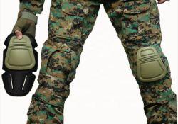 내구성이 뛰어난 군용 무릎 및 엘보우 패드 전문가용 무릎 패드 프로텍터