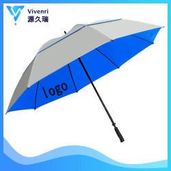 68 승진 광고를 위해 인쇄하는 주문 로고를 가진 UV 보호 강풍 사기꾼 옥외 배출된 비 그리고 일요일 골프 우산
