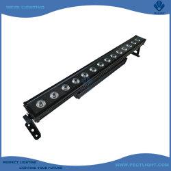 실외 방수 IP65 RGB LED 14X30W 픽셀 스트립 벽면 세탁기 Bar Stage Light(바 단계 조명)