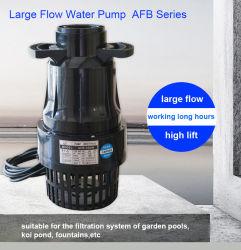 Große Fluss-Wasser-Pumpe 1000W 110000L/H für Gärten