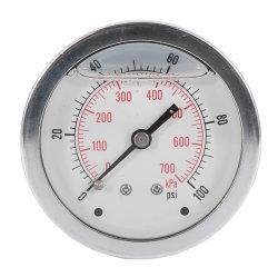3 1 2 في 160 رطلاً لكل بوصة مربعة ضغط سائل ممتلئ الكمكس MNPT المقياس