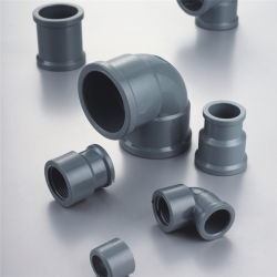 تركيبة أنبوب PVC بزاوية 45 درجة لأنبوب أنبوب المياه (DIN NBR5648 قياسي)