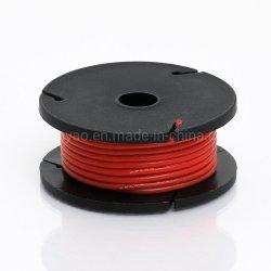 Odseven cubierta de silicona recubierto de goma de conectar el cable de cable básico - 25M 26AWG rojo