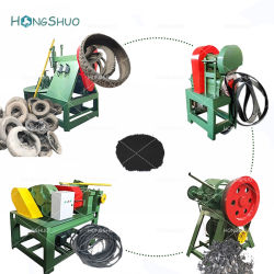 Pneu en caoutchouc de concasseurs Xkp-400 Machine/machine de recyclage de pneus pour le caoutchouc en poudre