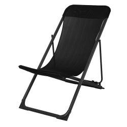 Prix bon marché mobilier extérieur en acier de pliage élingue chaise de plage à trois positions réglable