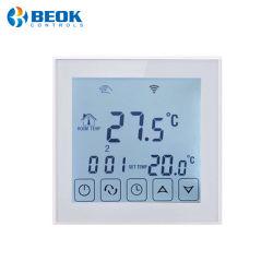 Großer Bildschirm-programmierbarer Raum-elektrischer Heizungs-Thermostat