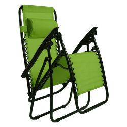 كرسي ردهة Gravity Recliner كرسي كرسي كرسي يطيّ كرسي قدمين للباحة حمام سباحة على شاطئ الحديقة بالخارج
