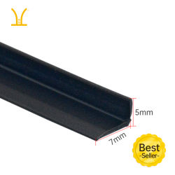 고품질 자체 접착식 Anti Mosquito PVC 소재 옷장 도어 심 고무 밀봉 스트립 고무 개스킷 접착 테이프 고무 씰 7 - 모양