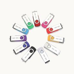 محرك أقراص USB Flash الأحدث سعة 4 جيجابايت وسعة 8 جيجابايت معدني ذاكرة USB سعة 32 جيجابايت Pendrive USB 2.0 PendDrive U (محرك أقراص USB 2.0 سعة 64 جيجابايت) القرص