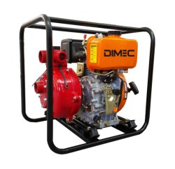 O PME50h (E) Diesel hidráulica da bomba de água de alimentação de 3 polegadas por Motor a Gasolina