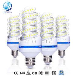 7W forma espiral milho LED Lâmpada de luz LED85-265CA V