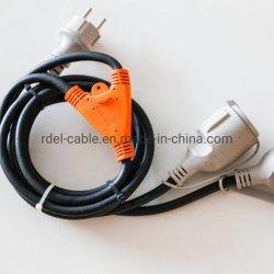 Schuko Cable Alargador Cable divisor de IP44 establece