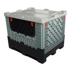 Serviço pesado colapsável da indústria e de plástico dobráveis Caixa palete