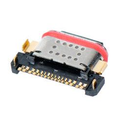 24 pinos tipo C C USB 3.1 Conector Macho do Conector USB PCB