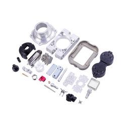 Kundenspezifische CNC-Bearbeitungsdrehmaschine Drehteile Aluminium Kupfer Magnesium Metall Teil für Auto Medical Aerospace 5G
