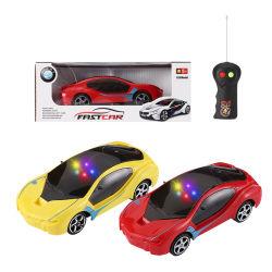 Giocattolo elettrico in plastica per bambini radio telecomando RC auto 2 Canali con 3D Light 1/26 Huihongtoys